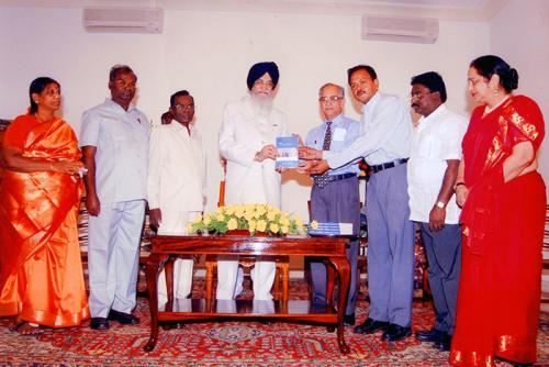 30th Anniversary PMD Book Released by Governor of Tamil Nadu
