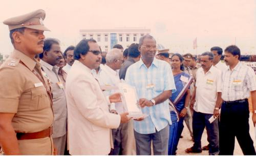 The Best NGO Award for PMD by Districty Collector